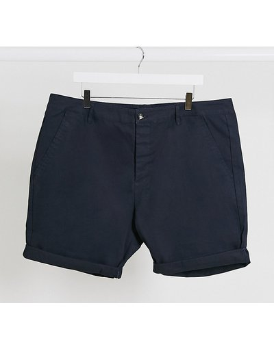 Navy uomo Chino corti skinny blu navy - ASOS DESIGN Plus