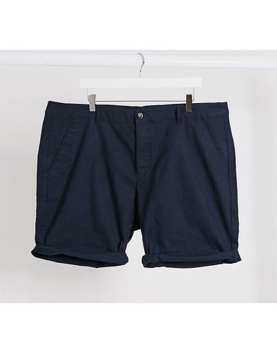 Navy uomo Chino corti slim blu navy - ASOS DESIGN Plus