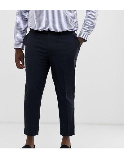 Navy uomo Pantaloni cropped eleganti skinny blu navy - ASOS DESIGN Plus