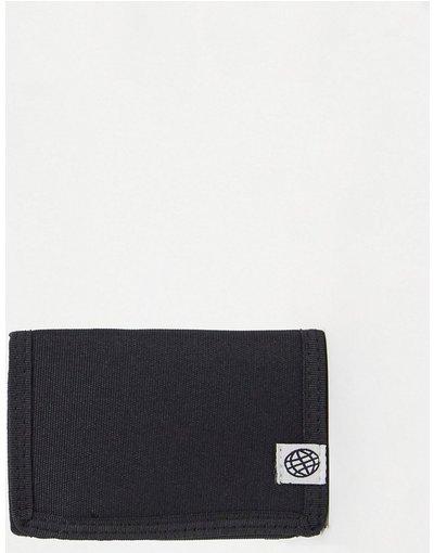 Portafoglio Nero uomo Portafoglio in nylon con impunture, colore nero - Day Social - ASOS