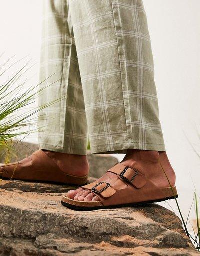 Sandali Cuoio uomo Sandali color cuoio - ASOS DESIGN
