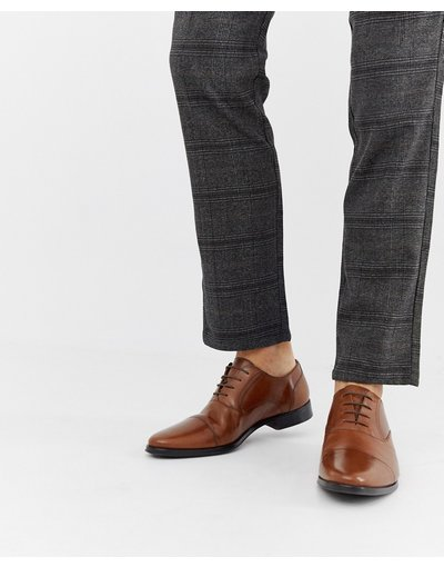 Scarpa elegante Cuoio uomo Scarpe Oxford in pelle color cuoio con punta - ASOS DESIGN