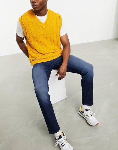 Jeans Blu uomo Jeans slim lavaggio blu scuro - Selezione etica - ASOS DESIGN