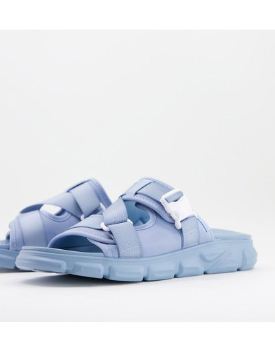 Novita Blu uomo Slider tecniche blu pastello - ASOS DESIGN