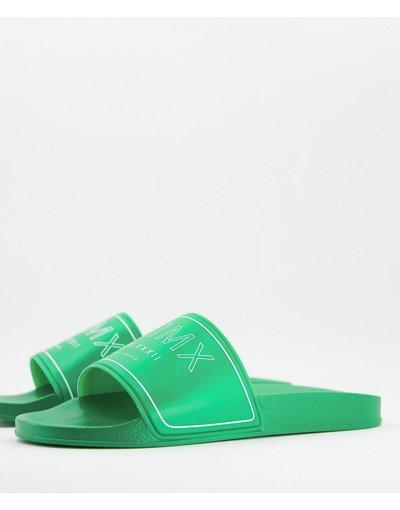 Novita Verde uomo Sliders verde fluo - ASOS DESIGN