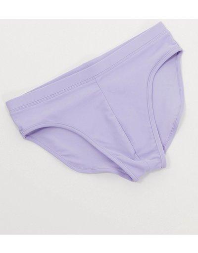 Costume Viola uomo Slip da bagno lilla - ASOS DESIGN - Viola