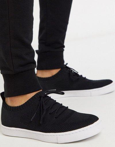 Stivali Nero uomo Sneakers in maglia mesh nere - ASOS DESIGN - Nero