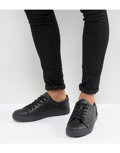 Sneackers Nero uomo Sneakers nere a pianta larga - ASOS DESIGN - Nero