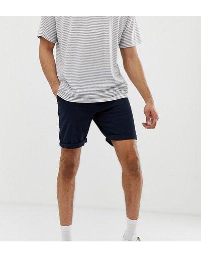 Navy uomo Chino corti slim blu navy - ASOS DESIGN Tall