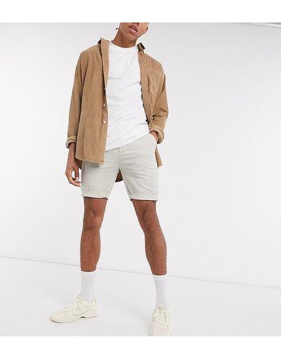 Beige uomo Chino corti super skinny chino beige - ASOS DESIGN Tall