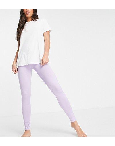 Pigiami Viola donna Leggings del pigiama mix&match in jersey lilla - ASOS DESIGN Tall - Viola