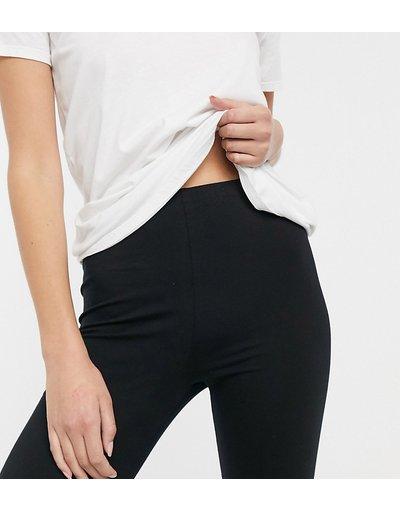 Pigiami Nero donna Leggings del pigiama mix&match in jersey neri - ASOS DESIGN Tall - Nero
