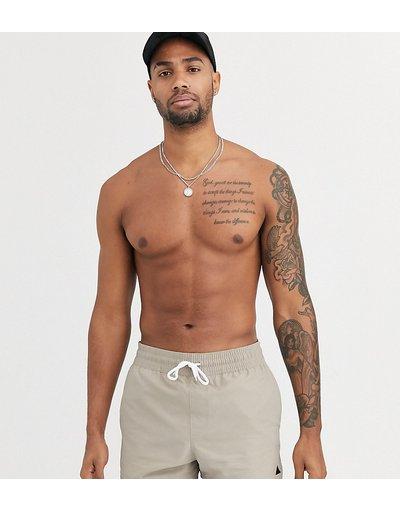 Costume Grigio uomo Pantaloncini da bagno molto corti grigi - ASOS DESIGN Tall - Grigio