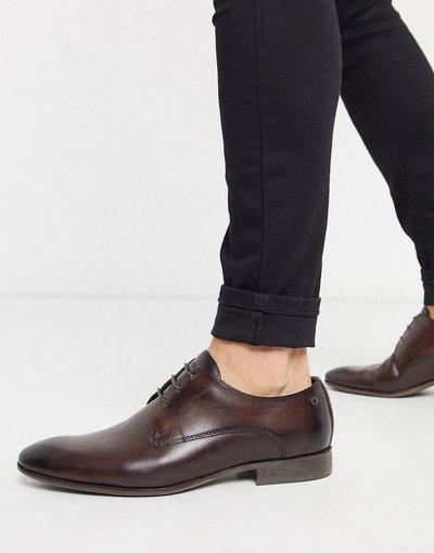 Scarpa elegante Marrone uomo Scarpe formali in pelle marrone - Base London - Dansey