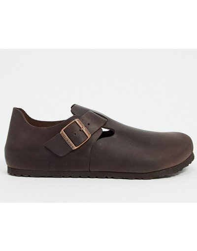 Stivali Marrone uomo Birkenstock London - Zoccoli oliati - Habana - Marrone