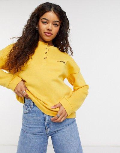 Giallo donna Maglione con bottoni giallo - Blend She