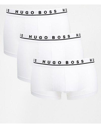 Intimo Bianco uomo Confezione da 3 boxer aderenti bianchi - BOSS By Hugo Boss - Bianco
