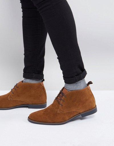 Marrone uomo Desert boots marroni - Burton Menswear - Marrone