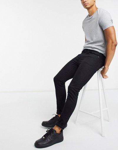 Jeans Nero uomo Jeans super skinny in tessuto organico neri - Burton Menswear - Nero