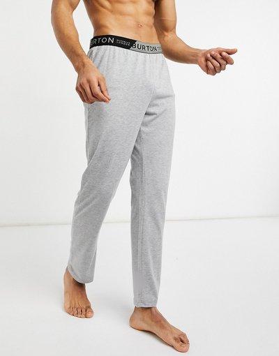Pigiami Grigio uomo Pantaloni da casa in jersey grigi - Burton Menswear - Grigio