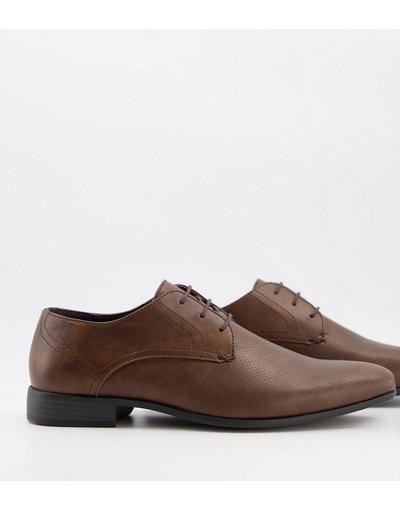Scarpa elegante Marrone uomo Scarpe derby marroni - Burton Menswear - Marrone