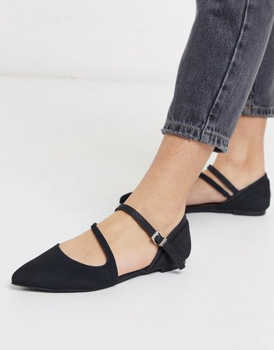 Scarpa bassa Nero donna Ballerine a punta nere - Call It Spring - Feross - Nero