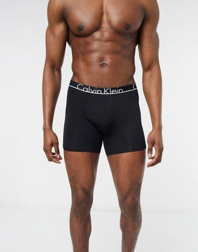 Calze Nero uomo Calvin Klein - Boxer neri - Nero