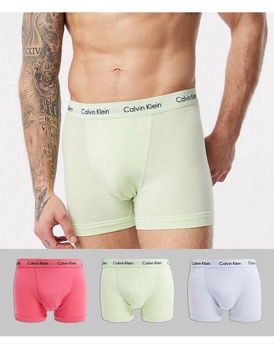 Intimo Multicolore uomo Confezione da 3 paia di boxer aderenti - Calvin Klein Cotton Stretch - Multicolore