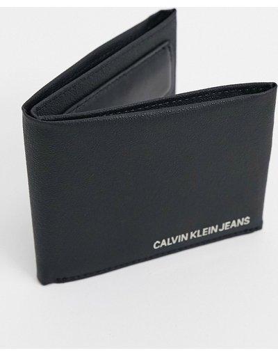 Portafoglio Nero uomo Portafoglio a libro nero - Calvin Klein Jeans
