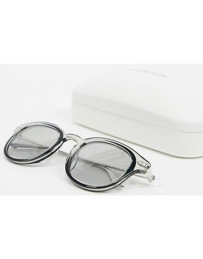 Occhiali Nero uomo Occhiali da sole cristallo fumo/nero - Calvin Klein