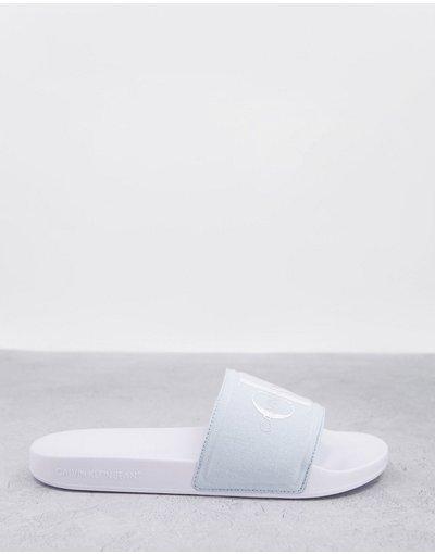 Novita Blu uomo Sliders blu pallido - Calvin Klein - Viggo