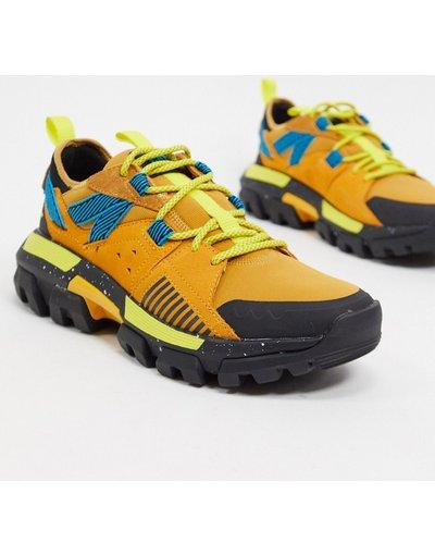 Sneackers Giallo uomo Sneakers chunky multi - Raider - Giallo - CAT