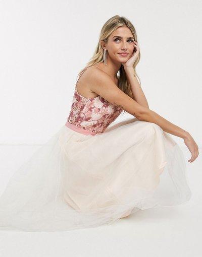 Rosa donna Vestito midi rosa - Chi Chi - Petra