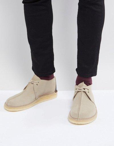 Pietra uomo Desert boots scamosciati da camminata color pietra - Clarks Originals