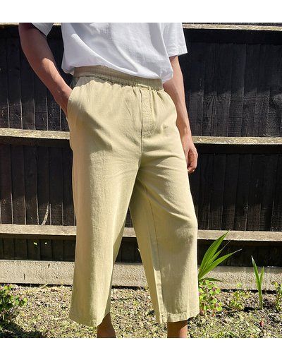 Pietra uomo Pantaloni militari svasati grigio pietra - COLLUSION