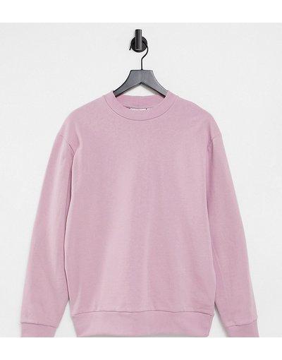 Maglione a girocollo Rosa donna COLLUSION Unisex - Felpa rosa