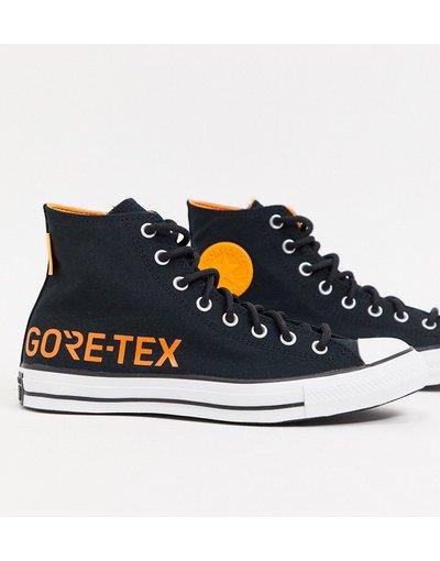 Stivali Nero uomo Sneakers alte nere in Gore - Chuck Taylor All Star - Converse - Nero - Tex