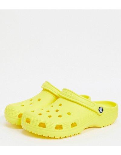 Sandali Giallo uomo Modello classico giallo limone - Crocs