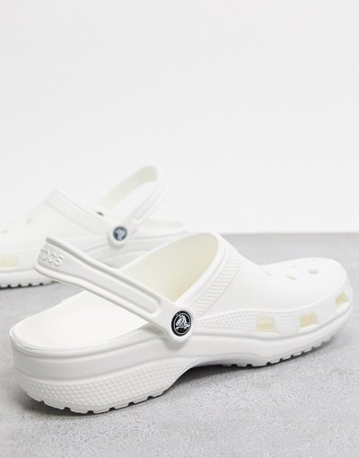 Sandali Bianco uomo Scarpe classiche bianche - Crocs - Bianco