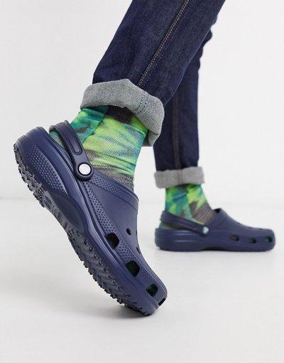 Sandali Navy uomo Scarpe classiche blu navy - Crocs