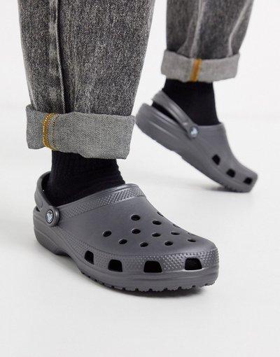 Sandali Grigio uomo Scarpe classiche grigie - Crocs - Grigio