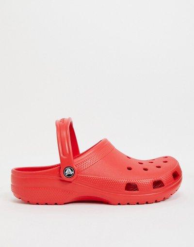 Sandali Rosso uomo Scarpe classiche rosse - Crocs - Rosso