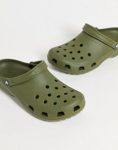 Novita Verde uomo Scarpe classiche verde kaki - Crocs