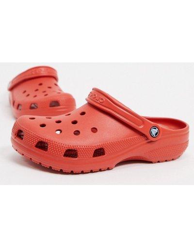 Sandali Rosso uomo Zoccoli originali rosso terracotta - Crocs