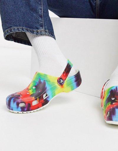 Sandali Multicolore uomo Zoccoli tie - Multicolore - dye multi - Crocs