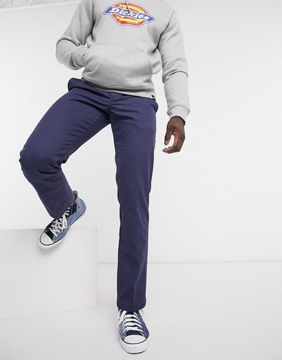 Blu navy uomo Pantaloni da lavoro navy - Dickies - Blu navy
