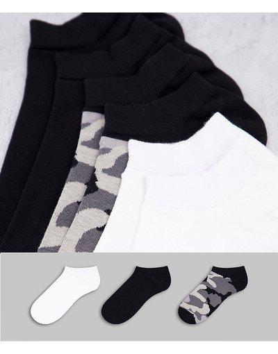 Intimo Multicolore uomo Confezione da tre paia di calzini neri/bianchi/mimetici - Multicolore - Diesel