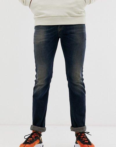 Jeans Blu uomo Jeans dritti lavaggio scuro 0890Z - Diesel - Safado - Blu - X
