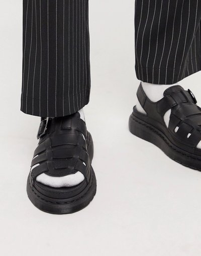 Sandali Nero uomo Sandali nero Temperley - Dr Martens - 8092 Arc