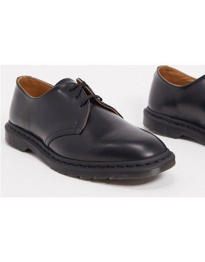 Scarpa elegante Nero uomo Scarpe nere con 3 coppie di occhielli - Dr Martens - Archie II - Nero